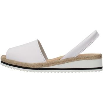 kengät Naiset Sandaalit ja avokkaat Ska 21CORFUNM WHITE