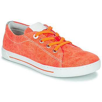 kengät Lapset Matalavartiset tennarit Birkenstock ARRAN KIDS Oranssi
