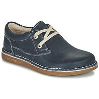 kengät Lapset Derby-kengät Birkenstock MEMPHIS KIDS Sininen / Tumma