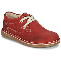 kengät Lapset Derby-kengät Birkenstock MEMPHIS KIDS Punainen