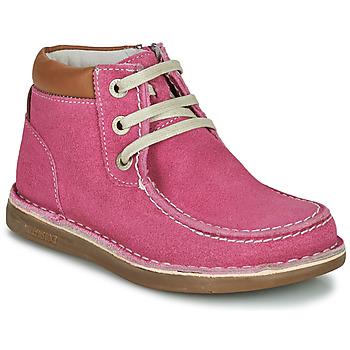 kengät Tytöt Bootsit Birkenstock PASADENA HIGH KIDS Vaaleanpunainen