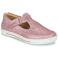 kengät Tytöt Balleriinat Birkenstock ABILENE Vaaleanpunainen