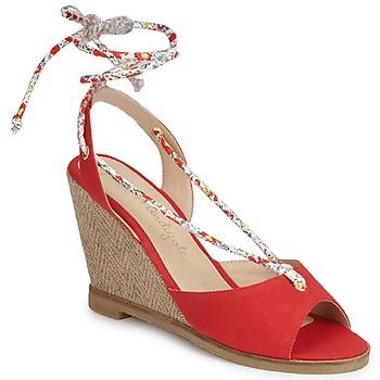 kengät Naiset Sandaalit ja avokkaat Petite Mendigote BLONDIE Red