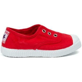 kengät Lapset Tenniskengät Cienta Chaussures en toiles bébé  Tintado rouge