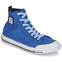 kengät Miehet Korkeavartiset tennarit Diesel FAMILA Sininen