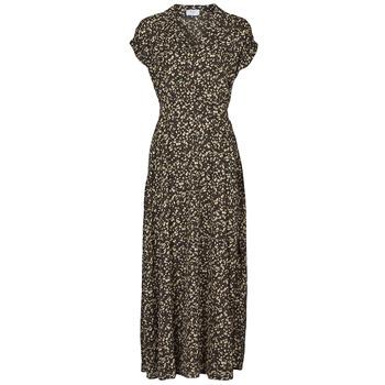 vaatteet Naiset Pitkä mekko Betty London PARILLA Musta / Monivärinen