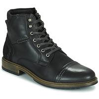 kengät Miehet Bootsit Casual Attitude HOKES Musta