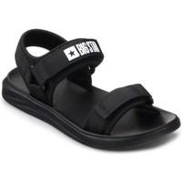 kengät Miehet Sandaalit ja avokkaat Big Star HH174842 Mustat