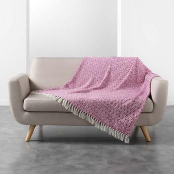 Koti Päälliset, suojapeitteet Douceur d intérieur PITHAYA Vaaleanpunainen