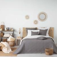 Koti Peitot Douceur d intérieur FLORETTE Anthracite
