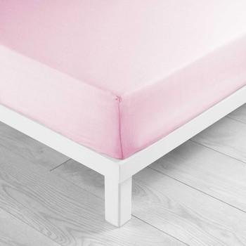 Koti Muotoonommellut lakanat Douceur d intérieur LINA Vaaleanpunainen / Clear