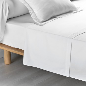Koti Lakanat Douceur d intérieur PERCALINE Valkoinen