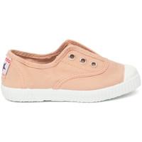 kengät Lapset Tenniskengät Cienta Chaussures en toiles  Tintado rose clair