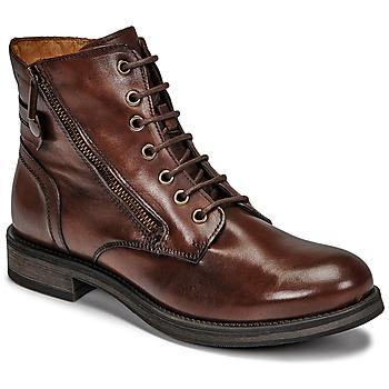 kengät Naiset Bootsit Casual Attitude NUNAISE Ruskea