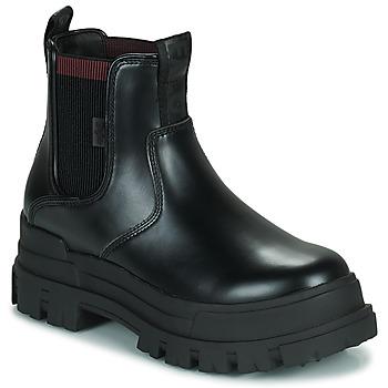 kengät Naiset Bootsit Buffalo ASPHA CHELSEA Musta