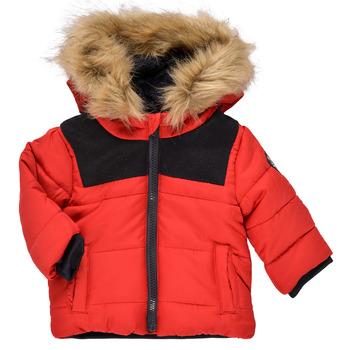 vaatteet Pojat Parkatakki Ikks NUIT Punainen