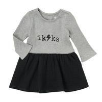 vaatteet Tytöt Lyhyt mekko Ikks CARAMEL Monivärinen