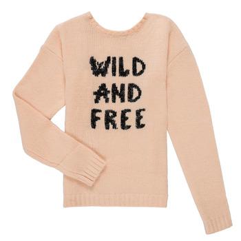 vaatteet Tytöt Neulepusero Ikks ISABELLE Vaaleanpunainen