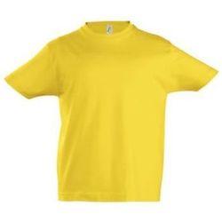 vaatteet Lapset Lyhythihainen t-paita Sols Camista infantil color Amarillo Amarillo