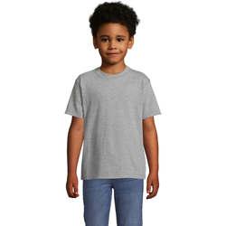 vaatteet Lapset Lyhythihainen t-paita Sols Camista infantil color Gris Gris