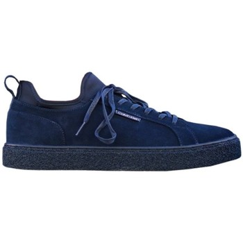 kengät Miehet Matalavartiset tennarit Calvin Klein Jeans B4F1182 Tummansininen