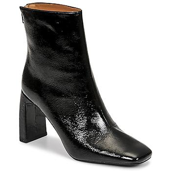 kengät Naiset Nilkkurit Minelli CREMIA Musta