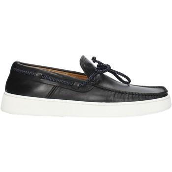 kengät Miehet Mokkasiinit Made In Italia 503PELLE Sininen