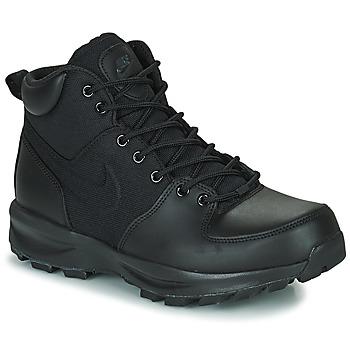 kengät Miehet Korkeavartiset tennarit Nike NIKE MANOA Musta