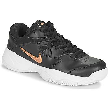 kengät Naiset Matalavartiset tennarit Nike WMNS NIKE COURT LITE 2 Musta / Pronssi