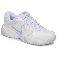 kengät Naiset Matalavartiset tennarit Nike WMNS NIKE COURT LITE 2 Valkoinen / Hopea