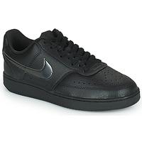 kengät Naiset Matalavartiset tennarit Nike WMNS NIKE COURT VISION LOW Musta