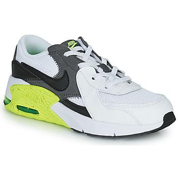 kengät Lapset Matalavartiset tennarit Nike NIKE AIR MAX EXCEE (PS) Valkoinen / Musta