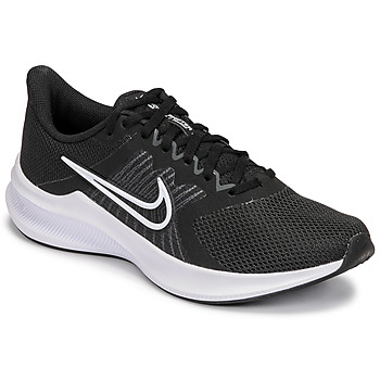 kengät Naiset Juoksukengät / Trail-kengät Nike WMNS NIKE DOWNSHIFTER 11 Musta / Valkoinen