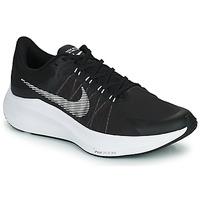 kengät Miehet Juoksukengät / Trail-kengät Nike NIKE ZOOM WINFLO 8 Musta / Valkoinen