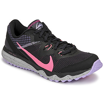 kengät Naiset Juoksukengät / Trail-kengät Nike WMNS NIKE JUNIPER TRAIL Musta / Vaaleanpunainen