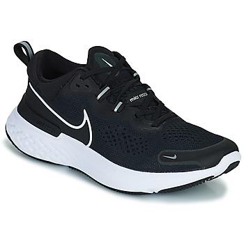 kengät Miehet Juoksukengät / Trail-kengät Nike NIKE REACT MILER 2 Musta / Valkoinen