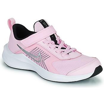 kengät Lapset Juoksukengät / Trail-kengät Nike NIKE DOWNSHIFTER 11 (PSV) Vaaleanpunainen / Harmaa