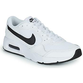 kengät Lapset Matalavartiset tennarit Nike NIKE AIR MAX SC (GS) Valkoinen / Musta
