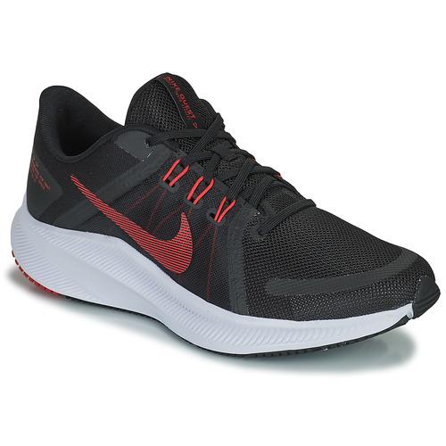kengät Miehet Juoksukengät / Trail-kengät Nike NIKE QUEST 4 Musta / Punainen