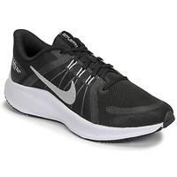 kengät Naiset Juoksukengät / Trail-kengät Nike WMNS NIKE QUEST 4 Musta / Valkoinen