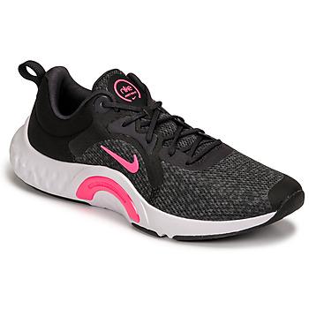 kengät Naiset Urheilukengät Nike W NIKE RENEW IN-SEASON TR 11 Musta / Vaaleanpunainen