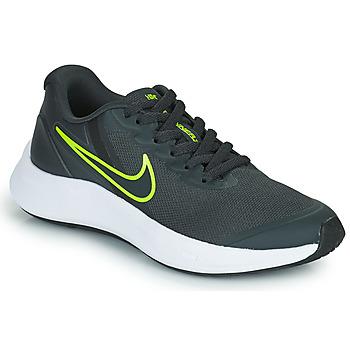 kengät Lapset Juoksukengät / Trail-kengät Nike NIKE STAR RUNNER 3 (GS) Harmaa