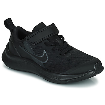 kengät Lapset Juoksukengät / Trail-kengät Nike NIKE STAR RUNNER 3 (PSV) Musta
