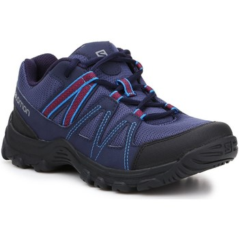 kengät Naiset Vaelluskengät Salomon Deepstone W 408741 24 V0 navy