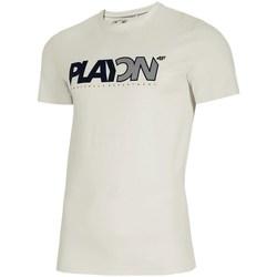 vaatteet Miehet Lyhythihainen t-paita 4F TSM013 Valkoiset