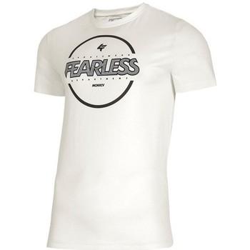vaatteet Miehet Lyhythihainen t-paita 4F TSM015 Valkoiset