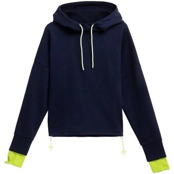 vaatteet Lapset Svetari 4F BLD025 Tummansininen