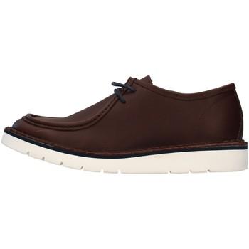 kengät Miehet Derby-kengät Re Blu' BK14 BROWN
