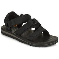 kengät Miehet Sandaalit ja avokkaat Teva M Cross Strap Trail BLACK Musta