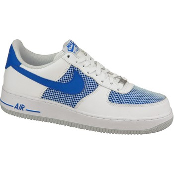 kengät Miehet Matalavartiset tennarit Nike Air Force 1 488298-150 White